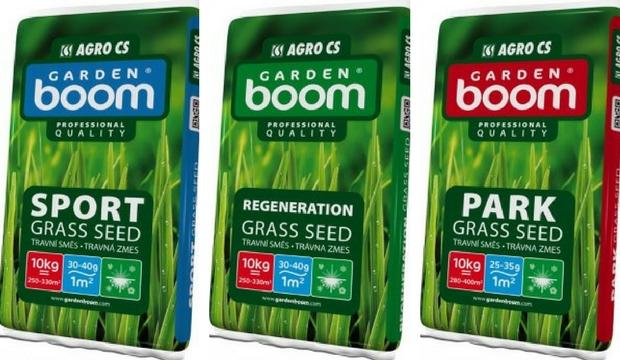 Travní směsi Garden Boom
